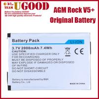 100% Original Battery For AGM ROCK V5+ Rugged Waterproof Mobile Phone 2000mAh