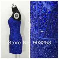 SED99 cheap sweetheart custom-made girls wholesale mini royal blue cocktail dress