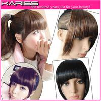 Kariss High Quality Front Bangs Fringe hair clip in Hair Bangs synthetic  bang hair fringe 1pcs/lot hair extension
