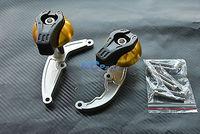 CNC Frame Sliders Crash Pads Protector For Honda CBR600RR F5 07-11 08 09 10 G