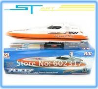 Biggest DH7007 Air-Cooled 79cm Remote Control RC Racing Speed Boat FLY FISH Rc Twin Motor Boat / Ready-to-Win free shippin gift