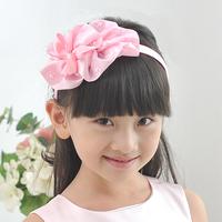 girl princess dress accessories bow hair accessory hair accessory pink white fg68