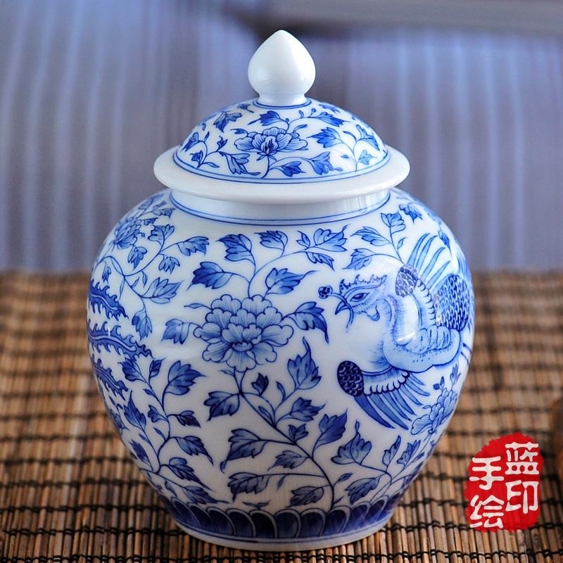 Caddy grande bloqueio loterias antigo de cerâmica caixa 900 ml(China (Mainland))