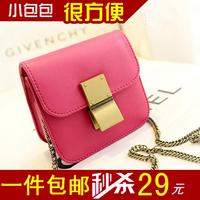 2014 chain small bags fashion black mini women's handbag messenger bag small bags
