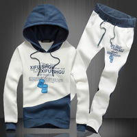 Free shipping 2014 Spring autumn new hoodies Hooded sweater Wei pants couple lanyards M-XXL