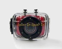 """2"""" LCD 720P 10M D10 Underwater Helmet Sport Action Camera DV Camcorder Mini DVR Recorder For Bike/Diving/Surfing/Ski/Skydiving"""