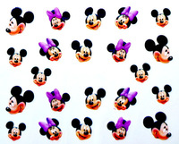Free Shipping 2015 New Water Transfer Nail Art Stickers Decal Cute Classic Mouse Mice Rat Design Decoration Foils Stamping Tools