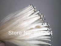10 Hanks Quality White Stallion horse hair, 32 inches & 6 grams each hank