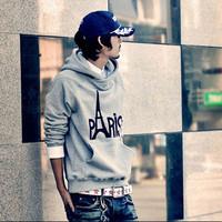 Free shipping 2014 Spring autumn new hoodies Street essential Eiffel Tower Sweater  M-XXL