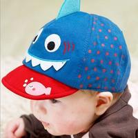 3Pcs/Lot Lovely Summer Baby Baseball Hat Baby Smallish Cap Cartoon Boy Visor 6-12 Months