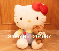 Hello kitty Stuffed Animal Toy 45cm Cute Gift Doll Quality Adorable Plush Toy 1pcs