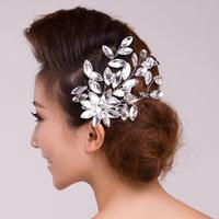 Luxury rhinestone bridal hair accessory