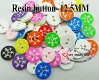 200pcs mixed snow fashion Resin shirt button sweater for sewing buttons dress craft wholesale R-195