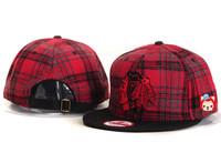 Blackhawks nhl chicago black hawks baseball cap flat brim adjust hip-hop cap hiphop cap men