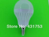 10pcs/lot  E14 6W 9W 110V or 220V/AC Spotlight LED Energy Saving LED bulb lamp light SMD 5730 warm white/white Free shipping