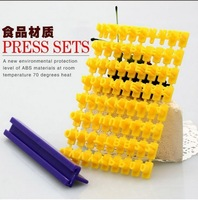 Free shipping Letter and Number Impress DIY Mould Stamp Tools Biscuit Cake Fondant Decorating