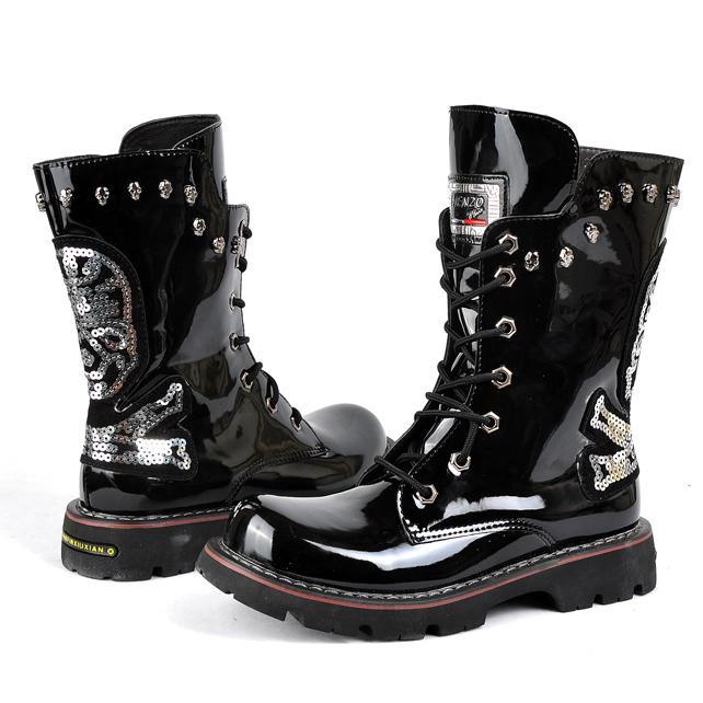 Boots Punk Punk Rock Boots Platform