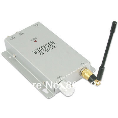 wireless 900-1300mhz receiver for video and audio Transmitter 1.2Ghz video receiver(China (Mainland))