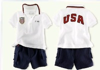 Free shipping , wholesale,  kids clothes,boys clothes set, girls clothes 1set/lot--JYS322