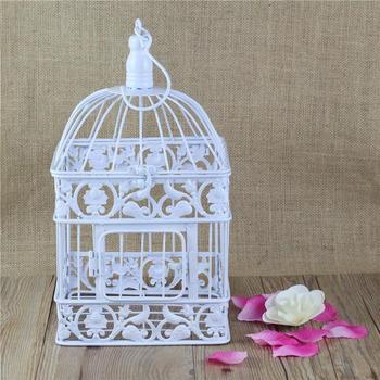 Площадь антикварная лозы декоративные клетка металлическая птица в клетке украшение для свадьбы или домашнего декора