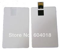 Free full color print logo  USB card flash pendrive  2GB,4GB,8GB,16GB,  credit card thumb drive