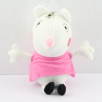 Free Shipping  retail 1pcs Suzy Sheep Peppa Pig Family Peppa Pig Friends peppa pig plush peppa pig Friend