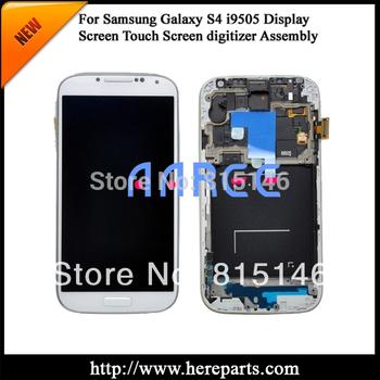 Большой на 100% работает в исходном для Samsung Galaxy S4 i9505 жк-планшета ассамблеи с - белый