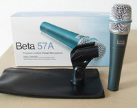 Free shipping 57A musical instrument pick up sound record Dynamic Microphone with bag not include the stand and cable