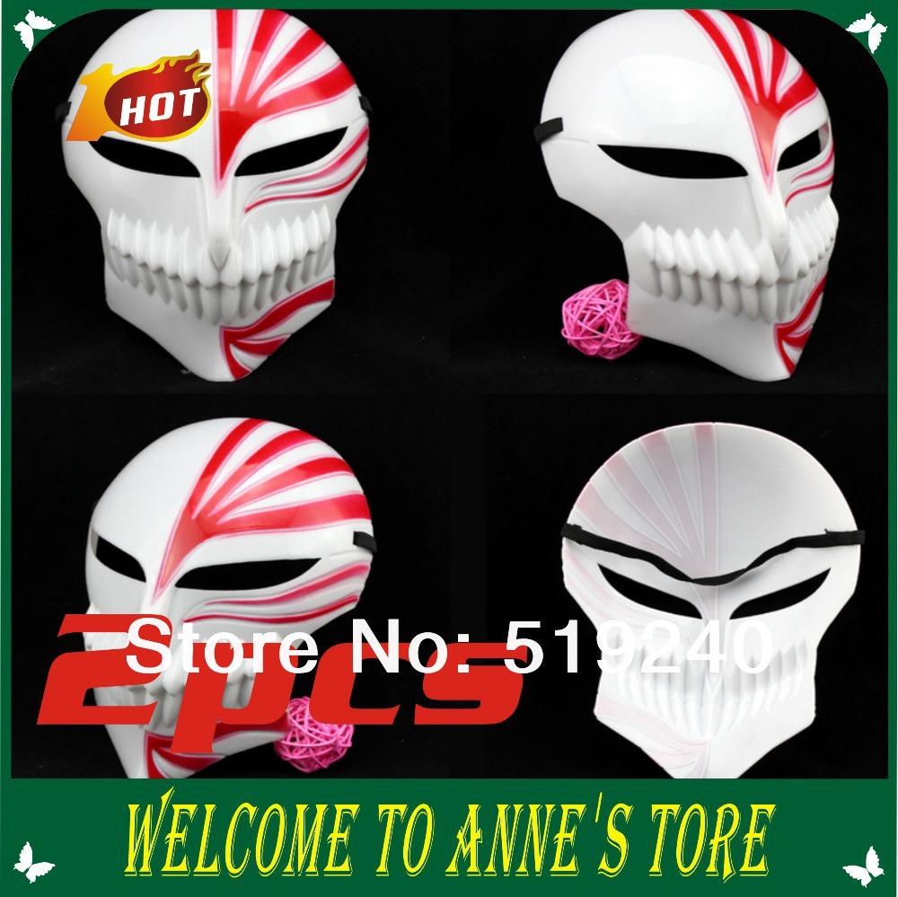 2014 New Arrival Pvc Halloween & Party The King of Terrors Máscara Masquerade herói Máscara Facial 2pcs máscara Cosplay(China (Mainland))
