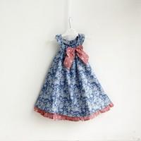 New!  High Quality Summer Child girl  Soft  Flower Sweet Cute Baby girl Dress Cotton Casual Children Girl Dress   Kids Dress