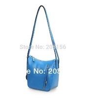 2014 Fashion leather bucket bag cute Women Messenger Bags Woman Leather handbag free delivery hobos handbag for ladies 0434