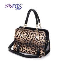 Women Handbags Hot Sale Promotion Women Animal Prints Bolsas Hot-selling 2014 Women's Pu Messenger Bag Leather Print Handbag