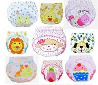 2pcs/lot Baby potty training pant waterproof panties infant underwear underpants free shipping