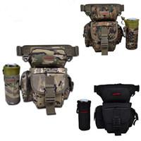 2014 multifunctional waist pack messenger , leg, pole package lure bag