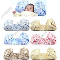 Baby Kids Toddler Nursery Infant Newborn Child Cotton Anti-Roll Sleep Positioner Prevent Flat Head Shape Pillow Support Cushion