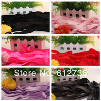 50 yards/lot New Arrival 2cm Width Elastic Fold Over -YOU CHOOSE Colors - Shiny for Headbands Hair Accessory Free Shipping