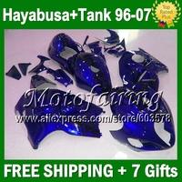 7Free gifts For SZKI Hayabsa GSXR1300 1641  96 97 98 99 00 01 02 03 04 05 06 07 Dark Ble GSX-R1300 1998-2007 Fll Fairing