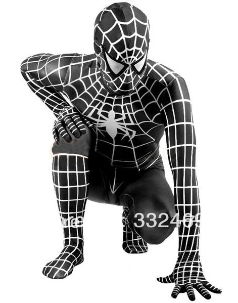 Halloween Costume Black And White Stripes Black White Stripes Spider Man