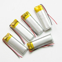 10 x pcs 3.7V 220mAh 051240 Lithium Polymer Li-Po Rechargeable DIY Battery  For Mp3 MP4 MP5 GPS PSP mobile electronic part