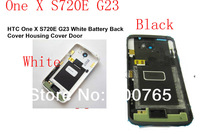 100% Top Quality Guarantee for HTC One X S720E G23  Battery Back Cover Door Rear Housing W/ Logo&Side Buttons by AM DHL EMS(1PC)