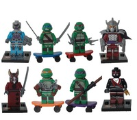 Hot sale Avengers Ninja turtle Star wars Ninja block Educational Building Blocks DIY Bricks Toys For Children
