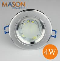 wholesale 120pcs/lot Luminarc LED Plafond ceiling lamp 220v 4W Sandblasting surface mounted LED Spot Downlight Luminaria