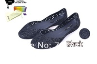 Melissa  campana zig zag  sandals bird nest rain boots   Ladies Melissa sandals 2014  black
