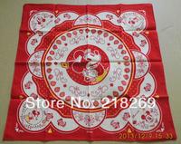 Custom Printing Handkerchief, Polyester Bandanas, MOQ: 10pcs