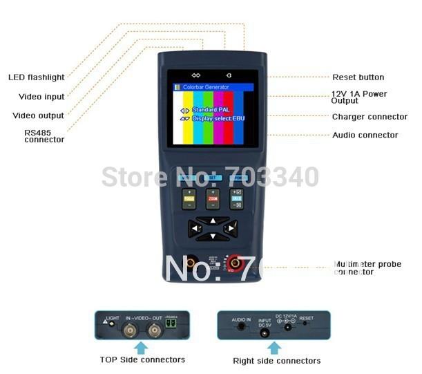 цифровой мультиметр PTZ и
