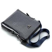 NEW Luxury Brand designer PVC men bag Fashion men messenger bags Classic Durable Business Briefcase