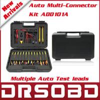 Auto Multi-Connector Kit ADD101A multiple Automotive Test Lead car diagnostic cables and connectors