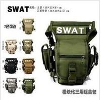 Swat waist pack leg bag single shoulder bag multi-purpose cs tactics bag tactical camera bag