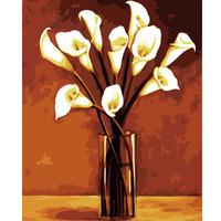 Digital oil painting 40 50 digital painting diy calla digital oil painting hand painting