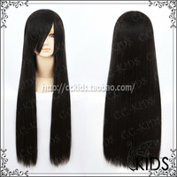 2014 New Arrival Real Freeshipping Straight Full Lace Wigs The Spot Ff7 Tifa Long Black Cosplay Wig